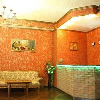 Гостиница Пролесок. Вид холла